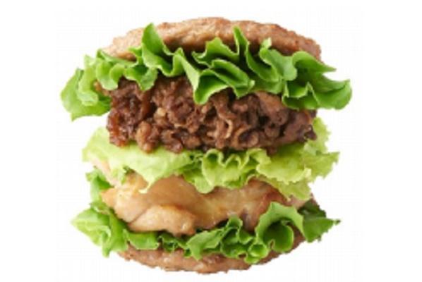 【肉の日だけのボリューム】モスバーガー「にくにくにくバーガー」朝10時半から販売スタート!