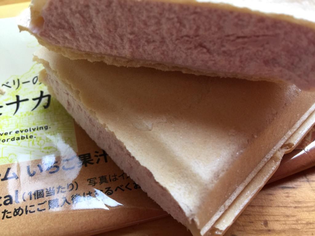 セブンプレミアム ストロベリーチーズモナカ クチコミ