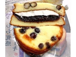 ヤマザキ「もち食感 塩豆ケーキ つぶあん&ホイップ」 口コミ写真