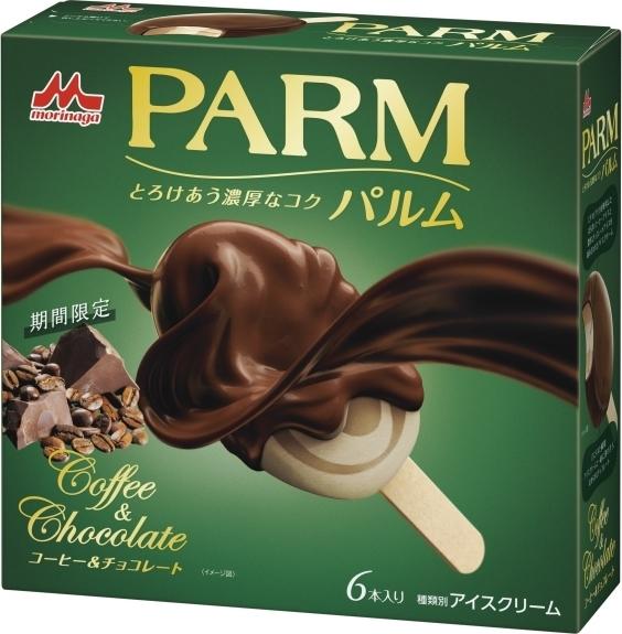 森永 パルム コーヒー&チョコレート 箱55ml×6
