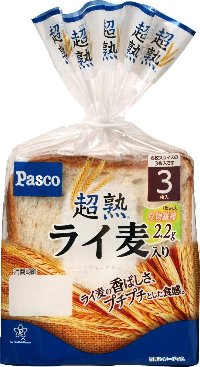 Pasco 超熟 ライ麦入り