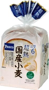 Pasco 超熟 国産小麦 袋6枚
