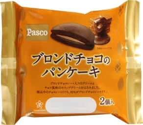 Pasco ブロンドチョコのパンケーキ 袋2個