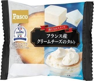 Pasco フランス産クリームチーズのタルト 袋1個