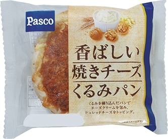 Pasco 香ばしい焼きチーズくるみパン 袋1個