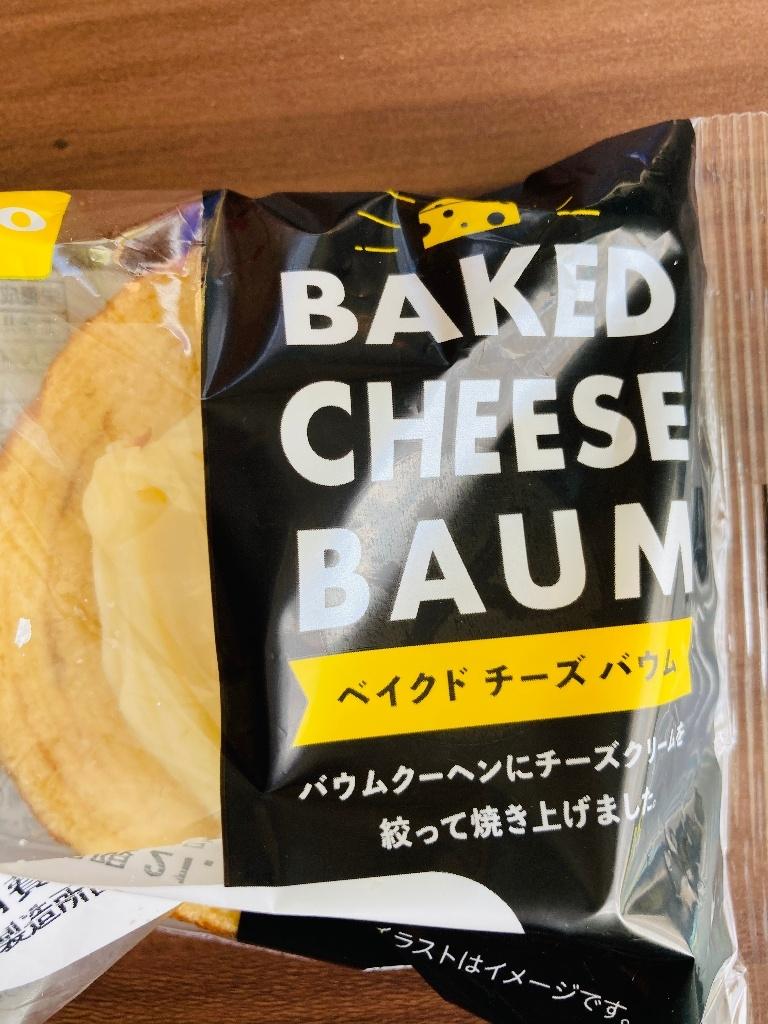 Pasco ベイクドチーズバウム 袋1個