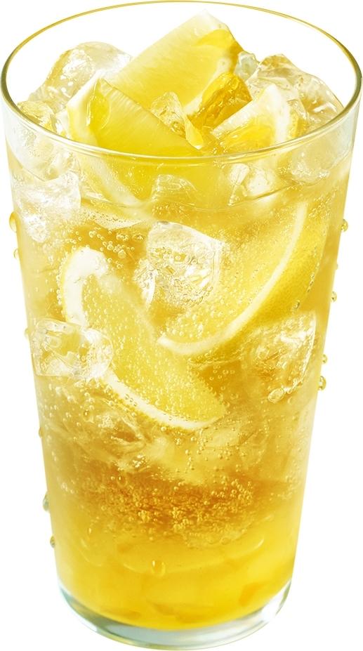 モスバーガー まるごと!レモンのジンジャーエール