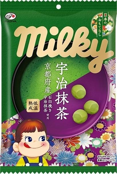 不二家 宇治抹茶ミルキー 日本のおもてなし 袋80g