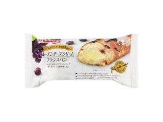 ヤマザキ「レーズンチーズクリームフランスパン」