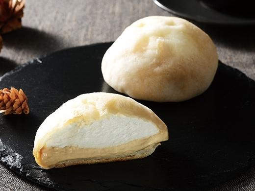 ローソン Uchi Cafe' SWEETS モアホボクリム ほぼほぼクリームのシュー キャラメル