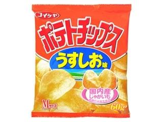 コイケヤ ポテトチップス うすしお味