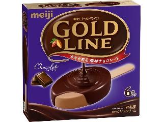 明治 GOLD LINE チョコレート 箱55ml×6
