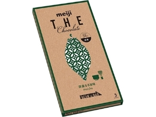 明治 ザ・チョコレート 深遠なる旨味抹茶 箱50g