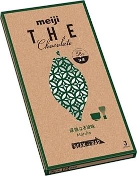 明治「ザ・チョコレート 深遠なる旨味抹茶」