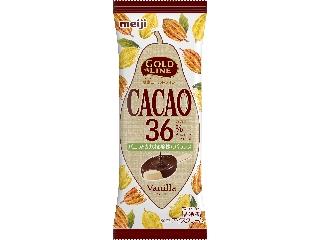 明治 GOLD LINE CACAO36% バニラ 袋90ml
