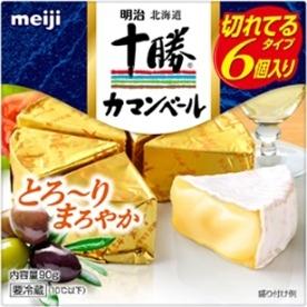 明治 北海道十勝 カマンベールチーズ 切れてるタイプ