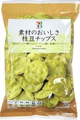 セブンプレミアム 枝豆チップス