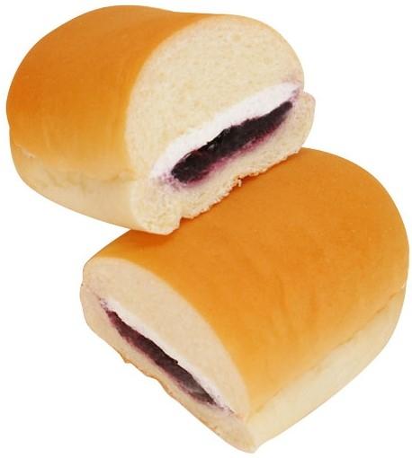 ファミリーマート コッペパン ブルーベリージャム&レアチーズ風味ホイップ