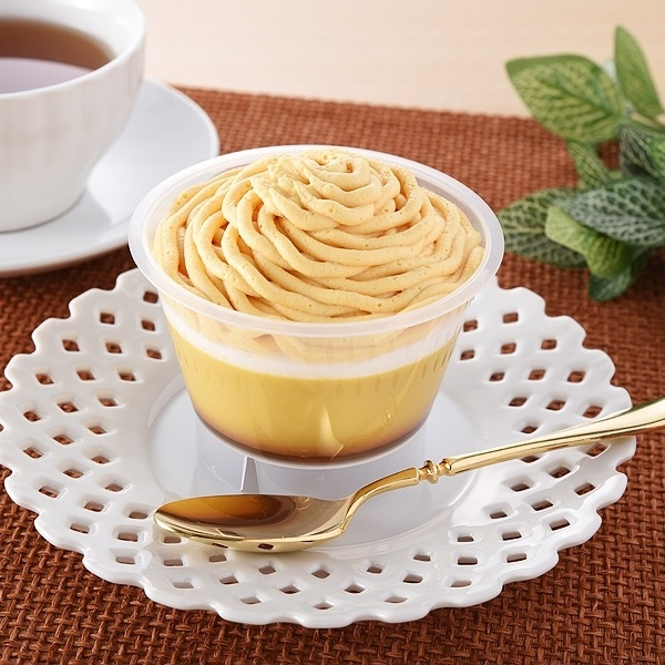 ファミリーマート 安納芋のモンブランプリン