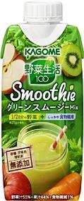 カゴメ 野菜生活100 Smoothie グリーンスムージーMix