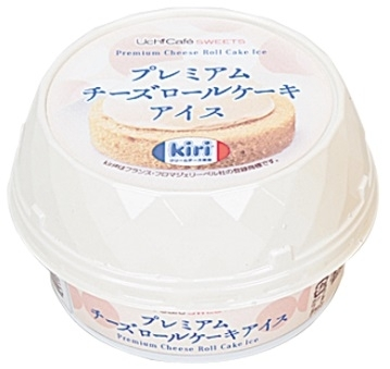 ローソン Uchi Cafe' SWEETS プレミアムチーズロールケーキアイス