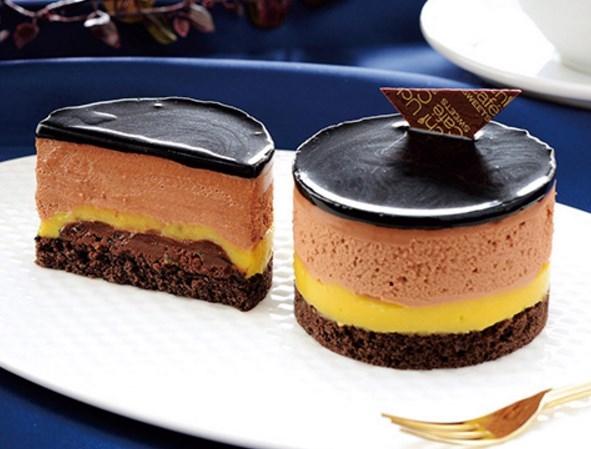 ローソン ベルガモット香るチョコレートケーキ