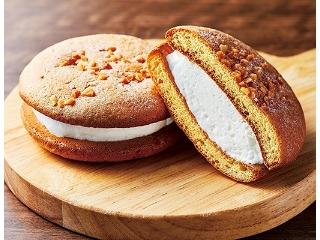 ローソン ふんわりミルククリームサンド