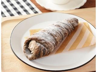 ローソン クッキーデニッシュコロネ 削りチョコ入りチョコホイップ