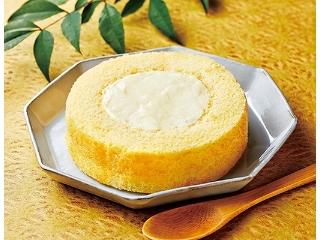 ローソン UchiCafe' SWEETS × 八天堂 カスタードくりーむロールケーキ