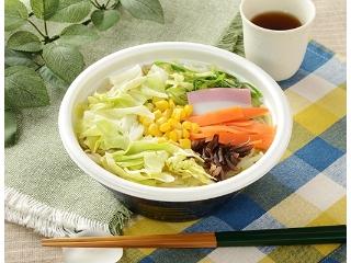 ローソン 1/2日分の野菜が摂れる 春キャベツのちゃんぽん