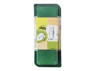 ローソン もち食感ロール(宇治抹茶&ホワイトチョコ風味クリーム)
