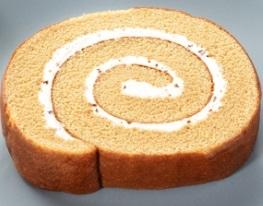 ローソン ふわふわ濃厚キャラメルロールケーキ
