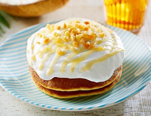 ローソン ココナッツミルククリームのパンケーキ