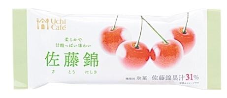 ローソン Uchi Cafe' SWEETS フルーツバー 佐藤錦