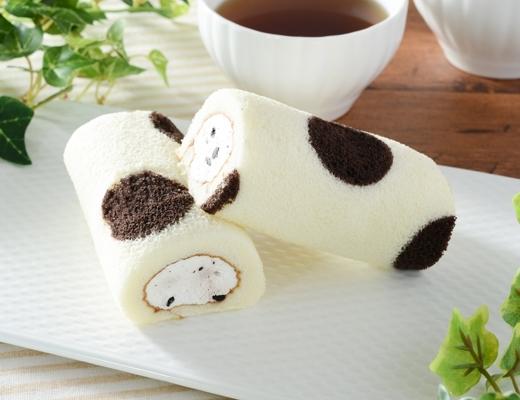 ローソン ミニもち食感ロール クッキー入りクリーム