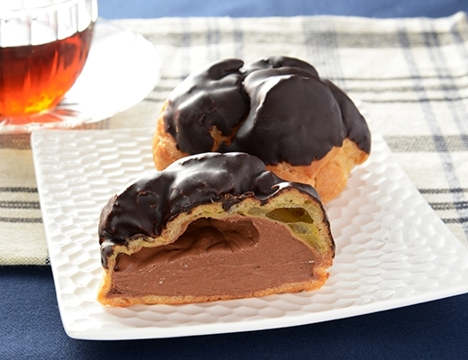 ローソン チョコレートシュークリーム