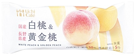 ローソン Uchi Cafe' SWEETS 日本のフルーツ 白桃