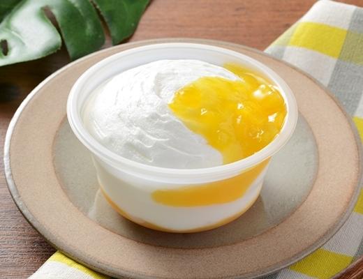 ローソン Uchi Cafe' SWEETS マンゴーとパッションフルーツのフロマージュ