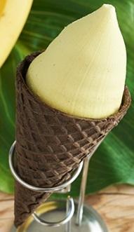 ローソン Uchi Cafe' SWEETS バナナワッフルコーン