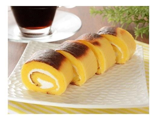 ローソン 焼チーズケーキロール 4個入