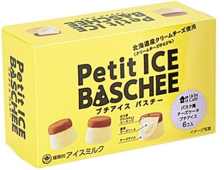 ローソン Uchi Cafe' SWEETS プチアイスバスチー