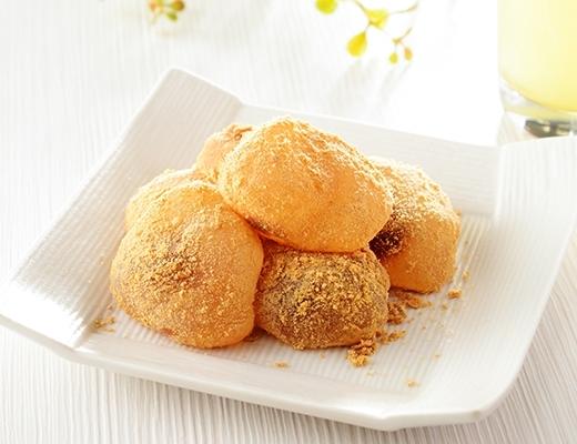 ローソン とろ~りわらび餅 京風きなこ 沖縄県産黒糖入り黒蜜使用