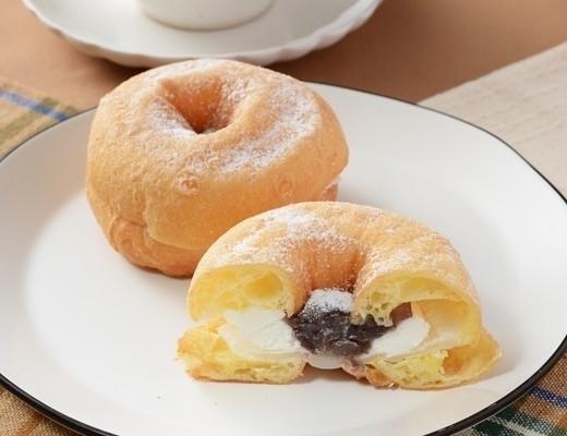 ローソン モフリン もちふわリングドーナツ あんバター