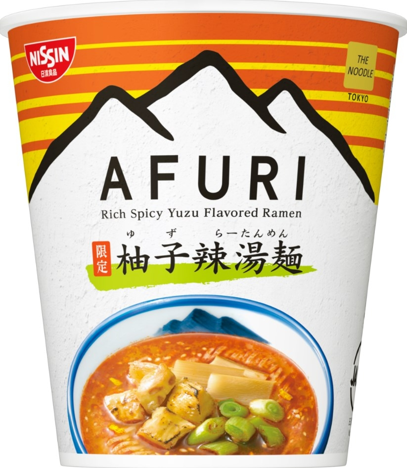 日清「THE NOODLE TOKYO AFURI 柚子辣湯麺」