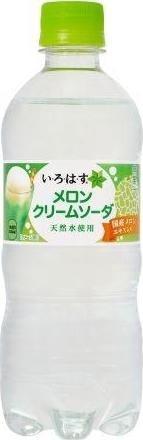 コカ・コーラ い・ろ・は・す メロンクリームソーダ ペット515ml