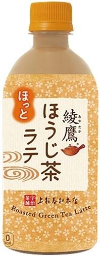 コカ・コーラ ホット 綾鷹 ほうじ茶ラテ ペット440ml
