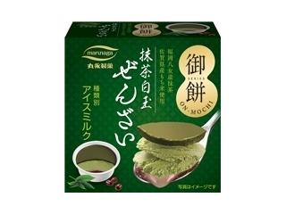 丸永 御餅 抹茶白玉ぜんざい 箱110ml
