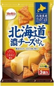Befco 北海道濃チーズせん 袋18g×3