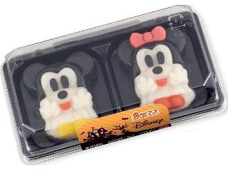 バンダイ 食べマス Disneyハロウィン ミッキーマウス&ミニーマウス パック2個