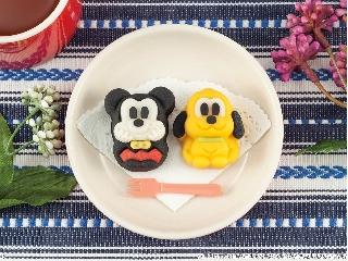 バンダイ 食べマス Disney New Year ver. ミッキー&プルート パック2個